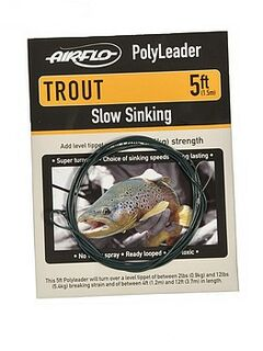 Airflo Polyleader trout clearintermediate - 5""
