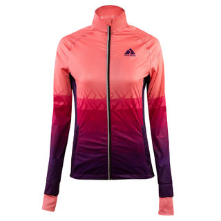 True Story 04| WindShield training jacket, WOMEN PURPLE RAIN edestä
