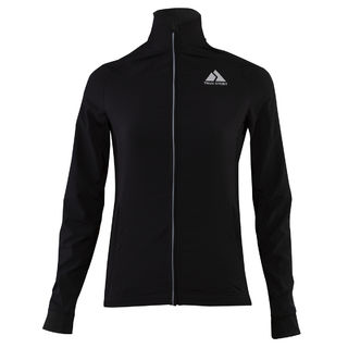 True Story Black Shield warm-up jacket, WOMEN edestä