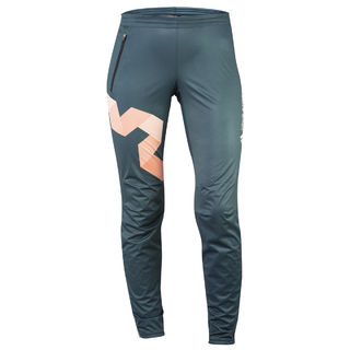 True Story 05| WindShield training pants, WOMEN AZURE PEACH edestä