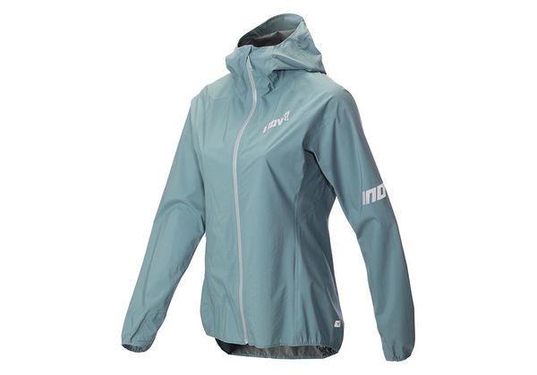 Inov-8 Stormshell Waterproof Jacket Women, siniharmaa