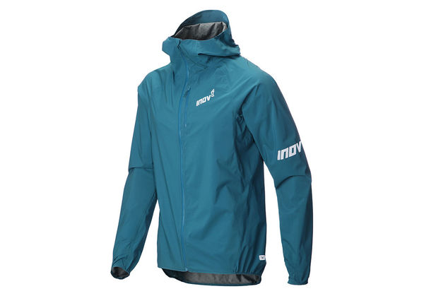 Inov-8 Stormshell Waterproof Jacket Men, sinivihreä