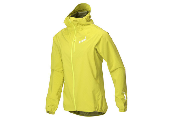 Inov-8 Stormshell Waterproof Jacket Men, keltainen