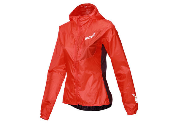Inov-8 Windshell Windproof Jacket Women, punainen/violetti