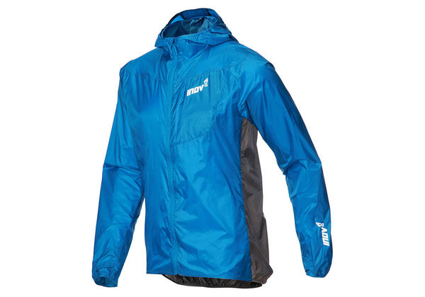 Inov-8 Windshell Windproof Jacket Men, sininen/tumman harmaa